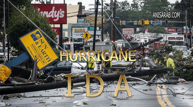 آخر أخبار إعصار أيدا IDA
