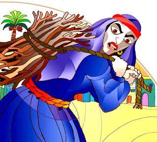 قصة امرأة أبو لهب